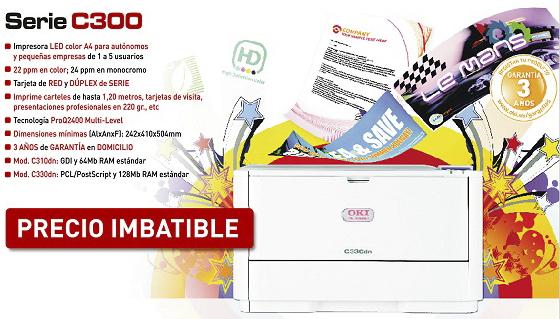 Promocion serie C300 Oki