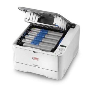 impresora laser color oki c530dn